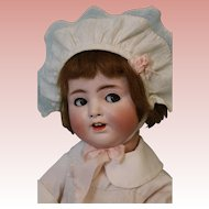 17 inch Antique German 1361 Alt,Beck & Gottschalk Flirty Eye Jointed Toddler Doll