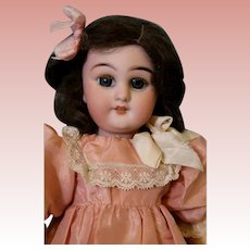 11 inch Antique Simon & Halbig 749 DEP Bisque Doll Wood & Compo French Body orig.fin