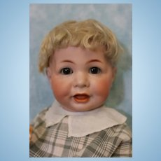 Antique 19 inch German Bisque K*R Kammer & Reinhardt 116A Character Baby Doll c.1900