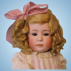 15.5 inch Gebruder Heubach 6969 Pouty Character Doll c.1912 German Bisque