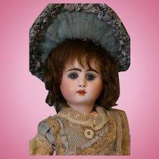 10.5 inch La Petite Parisian Bebe Steiner French Bisque Antique Doll Petite cutie Size!