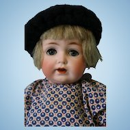 10 inch Antique Kestner 260 Toddler blue sleep eyes,all of her brush eyelashes