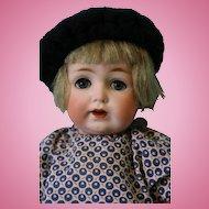 10 inch Antique Kestner 260 Toddler blue sleep eyes,all of her brush eyelashes
