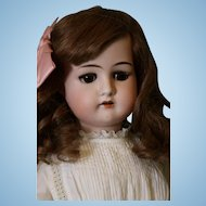 24 inch Cuno & Otto Dressel 1912 German Bisque Antique Doll c.1915 Pretty Girl!