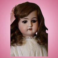 24 inch Cuno & Otto Dressel 1912 German Bisque Antique Doll c.1915 Pretty Girl!