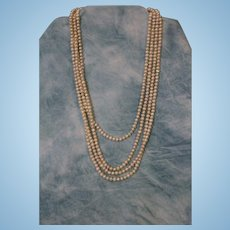 98 Inch Long Pearl Necklace
