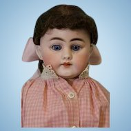 18 inch Simon and Halbig S & H 1010 DEP German Bisque Doll c. 1890s Pretty Face!