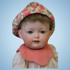 Antique 11 inch Bahr & Proschild German Bisque Baby Doll 604 well dressed Clean !!