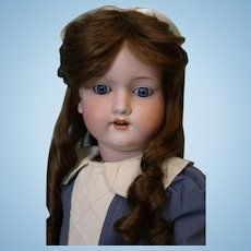 28 inch Armand Marseille German Bisque Doll 390 Large Size PRETTY! c.1910