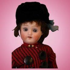 8.5 inch Antique Herm Steiner German Bisque Doll Orig Dutch costume c.1910