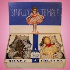 Vintage 1930s Shirley Temple Doll Figural Soap Lester Gaba Made by Kerk Guild