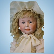Antique 22 inch 1428 Simon Halbig German Character doll Slant hip toddler body