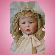 Antique 22 inch 1428 Simon Halbig German Character doll Slant hip toddler body