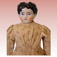Antique ABG Alt Beck & Gottschalck 1880s  16 inch China Head doll china hands