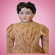 Antique ABG Alt Beck & Gottschalck 1880s  16 inch China Head doll china hands
