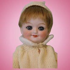 Antique 9 Inch Gebruder Heubach Googly Doll 10730 Sleep Eyes Size 0 c.1915