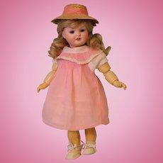 "Antique 11"" Bahr and Proschild 585 German bisque character doll c.1912"