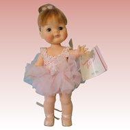 "12 Inch Madame Alexander ""Muffin"" Ballerina Pink Tutu Adorable!"