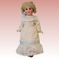 """Antique 8"""" German bisque 1914 DEP Recknagel R 13/A doll Jointed compo body"""