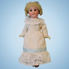 "Antique 8"" German bisque 1914 DEP Recknagel R 13/A doll Jointed compo body"