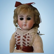 12.5 Inch German Bisque 183 Belton type Doll Closed Mouth Jointed body Straight Wrist