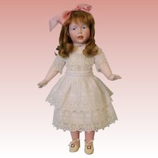 "Rare c1910 18"" (46cm) Kammer & Reinhardt 112 ""Elsa"" German Bisque Character Doll"