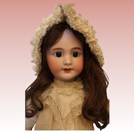23 Inch DEP Marked Tete Jumeau French Bisque doll Open Mouth Cute!