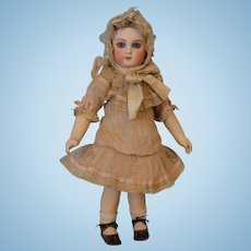 "Stunning 15"" French First Series Jumeau Antique Doll Marked Body c.1877"