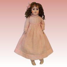 """Antique 22"""" German Bisque Doll Shoulder-head Kestner Marked 8 Made in Germany"""