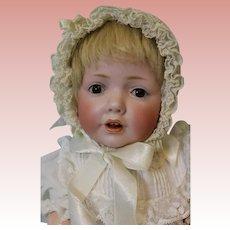 """Antique 16"""" German Bisque JDK 237 Hilda Character Baby Doll by Kestner c.1915"""