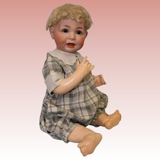 "Antique 19"" German Bisque K*R Kammer & Reinhardt 116A Charcter Baby Doll c.1900"