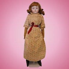 20 Inch ABG Antique Bisque Doll Alt, Beck, & Gottschalk c1885