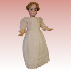 "c.1910 LARGE 27.5 Inch Antique K*R Simon & Halbig German Bisque Doll Marked ""70"""