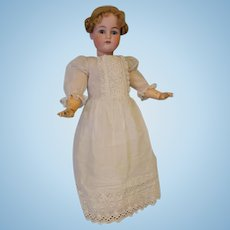"""c.1910 LARGE 27.5 Inch Antique K*R Simon & Halbig German Bisque Doll Marked """"70"""""""