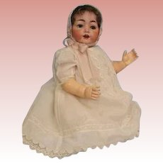 Antique 25 inch German Bisque Hertel Schwab Baby Doll 99/15 LARGE BABY!