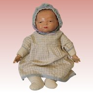 "c.1940's Rare 15"" Composition Bye-Lo Baby Doll by Grace Putman All Original"