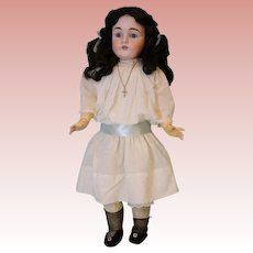 "Antique 27"" 154 Kestner Doll Antique Clothes Nice Large Size c1900 German Bisque"
