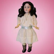 "Antique 27"" 154 Kestner Doll Antique Clothes Nice Large Size c1900 German Bisque"