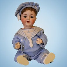 Antique 20 inch K star R 126 Simon & Halbig German Bisque Doll c1910 Baby Doll