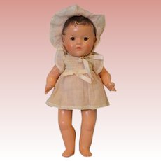 14 Inch Madame Alexander Dionne Quint Yvonne Doll, some lifting, no shoes