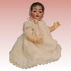 Antique 25 inch German Bisque Hertel Schwab Baby Doll 99/15 LARGE BABY!