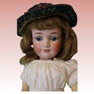 "Antique 24"" Simon and Halbig Jutta 1348 German Bisque Doll Boo Boo Bargain"