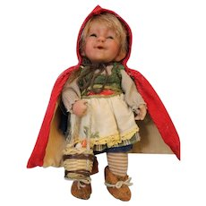 7-Inch Diana Drake Artist Doll Red Riding Hood A happy child