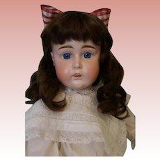 """Antique 21.5"""" JDK German Bisque Kestner 14 Doll Germany K ca 1900 No Damage"""