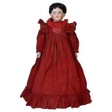 "Antique 18"" China Head Doll by ABG Alt Beck and Gottschalk Germany Antique dress"