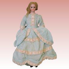 "Antique 8"" S&H 1160 Little Women Simon and Halbig German Dollhouse Doll"