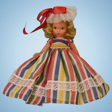 "Vintage Bisque Nancy Ann Storybook #22 ""Alice sweet Alice"" Doll"