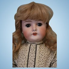 "25"" Antique AM Armand Marseille Queen Louise German Bisque Doll"