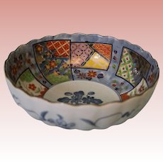 """Antique Chinese bowl 8"""" diameter and 26"""" circumference no chips or hairlines"""