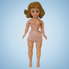 9-Inch Cissette Madame Alexander Doll Blonde Blue Eyes Waiting to be dressed